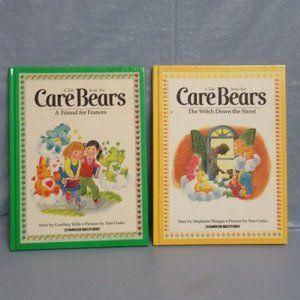 2 Vintage Care Bears Hardback Kids Books